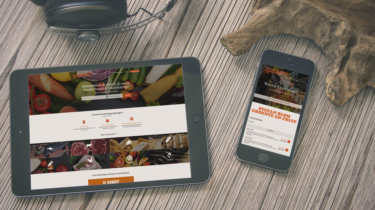 Webshop Boodschappen Bezorgd.nl