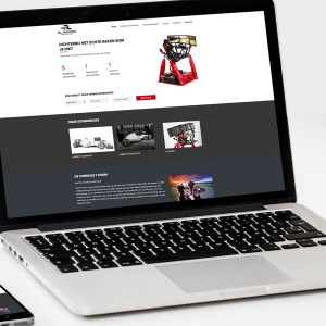 Online simulator reserveren bij RL Racing