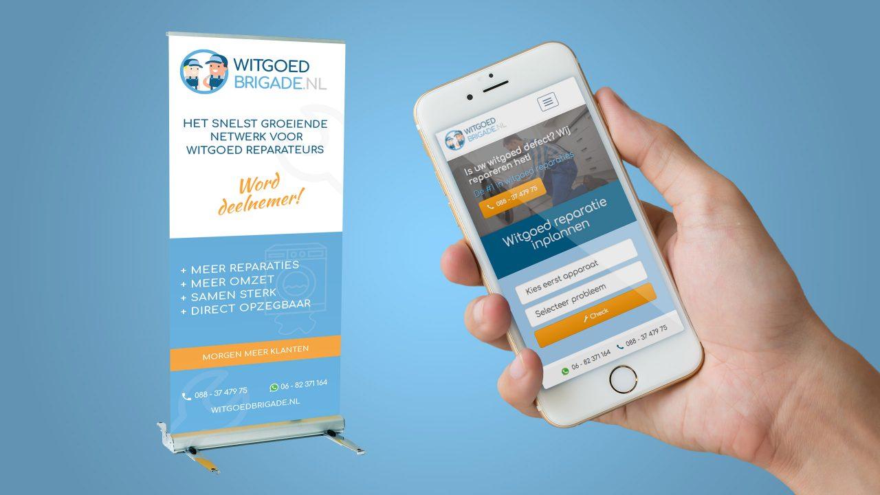 Website Witgoed Brigade