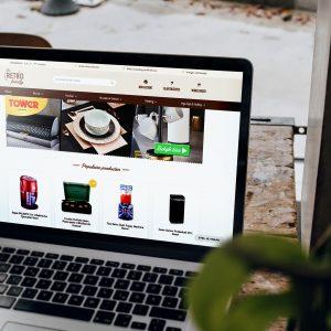 Een uitgebreide webshop voor The Retro Family