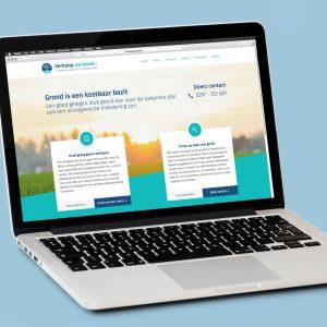 Leadgeneratie website voor VerkoopuwKavel.nl